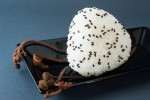 Sweet Jerusalem artichoke onigiri  Camille Oger