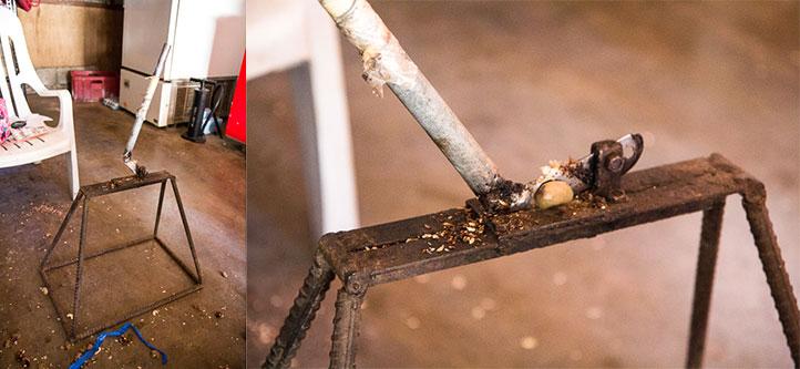 Cashew trimmer © Camille Oger