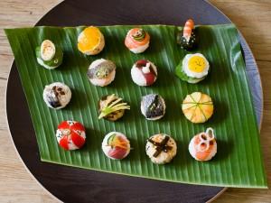 Temari sushis © Quentin Gaudillière