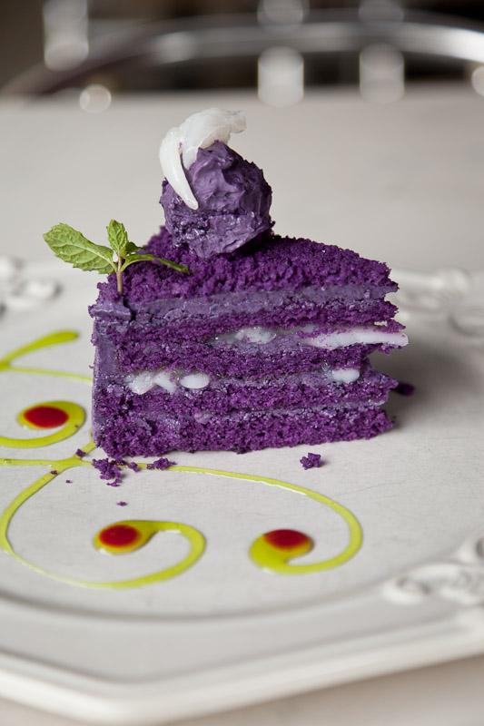 Gâteau ube macapugno © Quentin Gaudillière