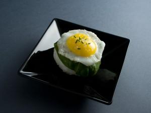 Temari sushi oeuf au plat