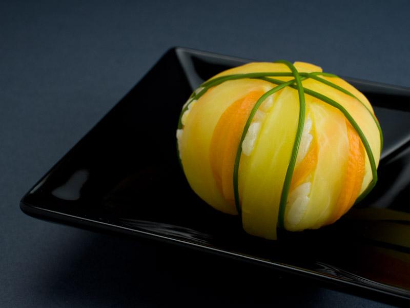 le temari sushi ou le figuratif dans la cuisine japonaise le manger. Black Bedroom Furniture Sets. Home Design Ideas