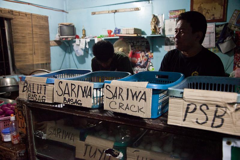 Vendeur de balut à Manille © Quentin Gaudillière