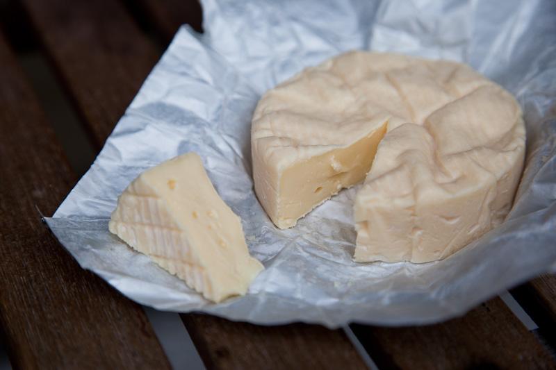 Camembert saumonâtre au goût absent © Quentin Gaudillière