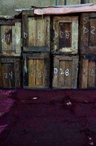 Caisses d'oeufs salés © Quentin Gaudillière