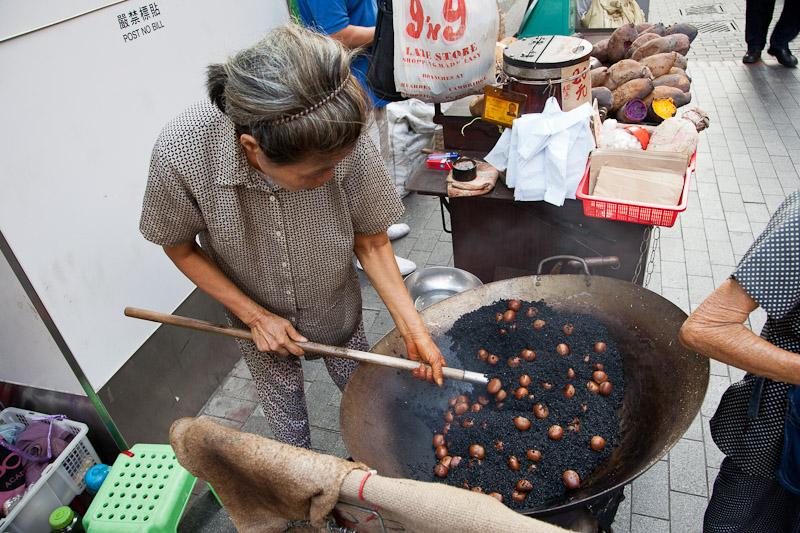 Vendeurs de marrons chauds © Quentin Gaudillière