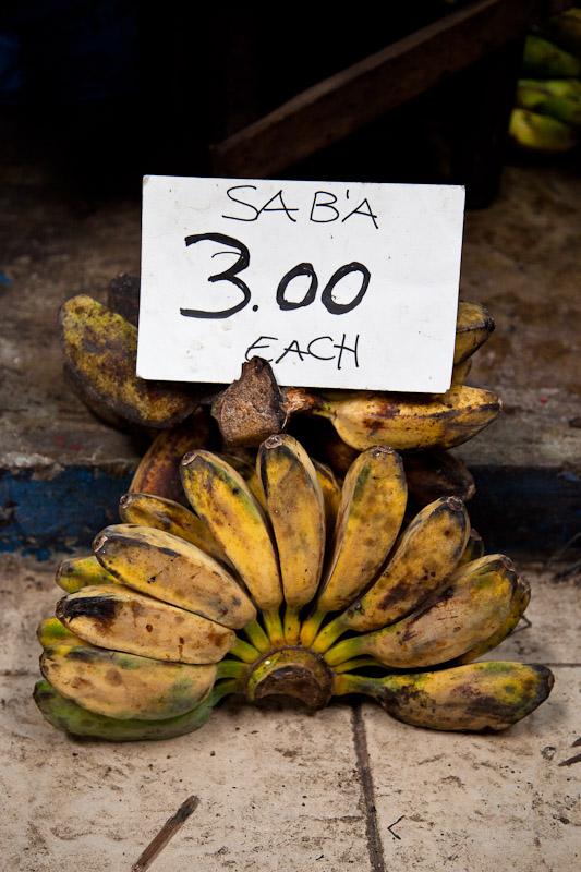 Saba au marché © Quentin Gaudillière