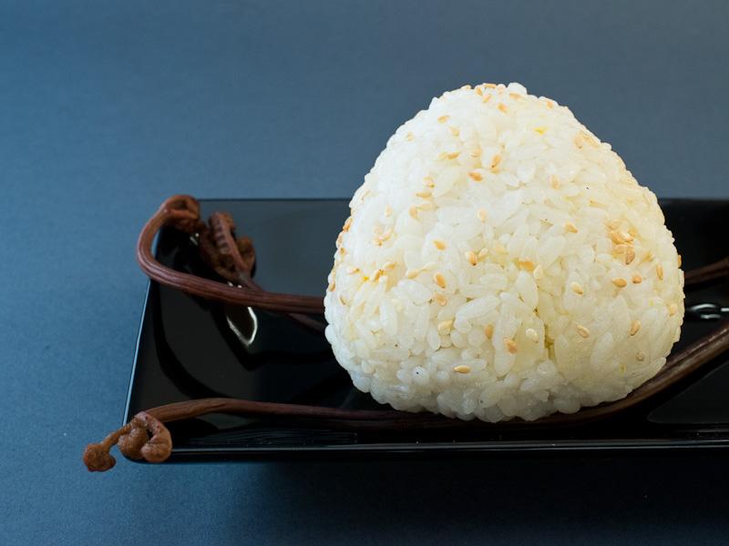 Onigiri à la kabocha © Camille Oger
