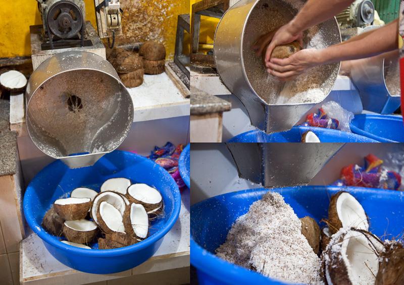 Machine à râper les cocos, Pateros © Quentin Gaudillière