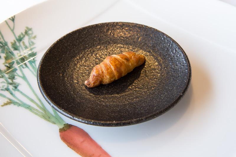 Mini-croissant aux herbes © Camille Oger