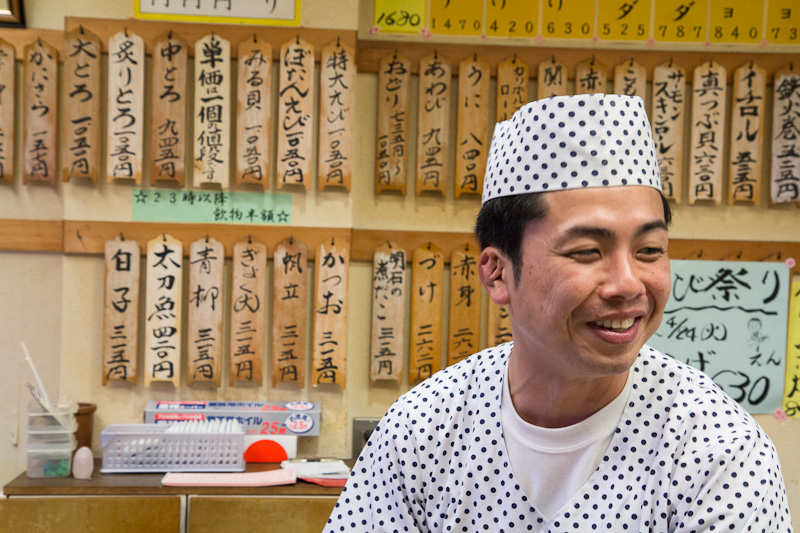 Kenta Birukawa, sushi designer chez Sushi Ko © Camille Oger