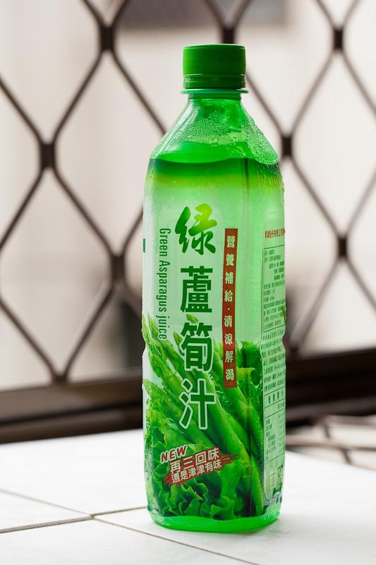 Jus d'asperges made in Taïwan © Quentin Gaudillière