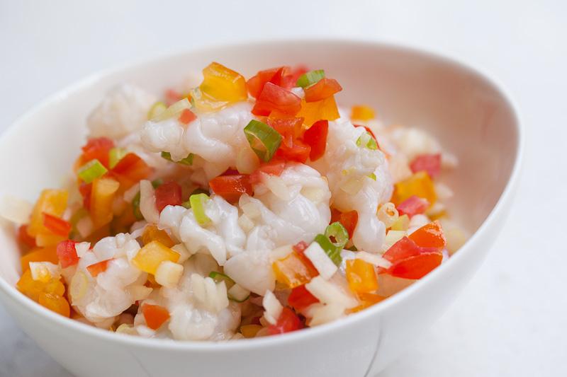 Kinilaw de crevettes d'eau douce © Quentin Gaudillière