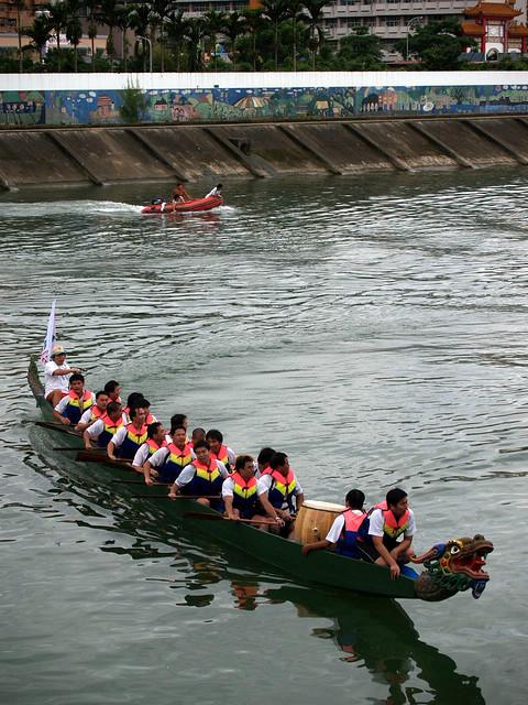 Course de bateaux-dragons à Taipei