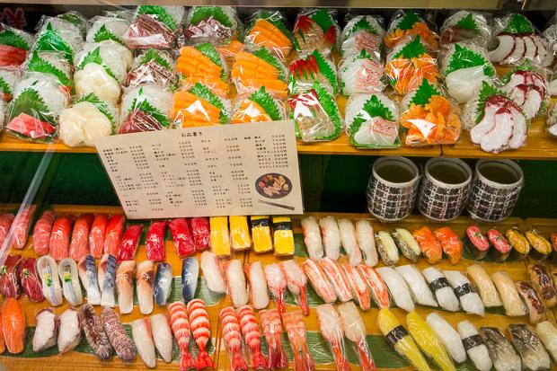 Sampuru de sushi © Camille Oger