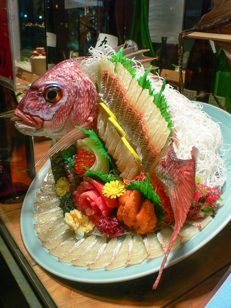 Poisson-sampuru en sashimi © Camille Oger