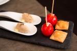 Raviole de potiron Tomates cerise et rillettes de lapin au yuzu © Camille Oger