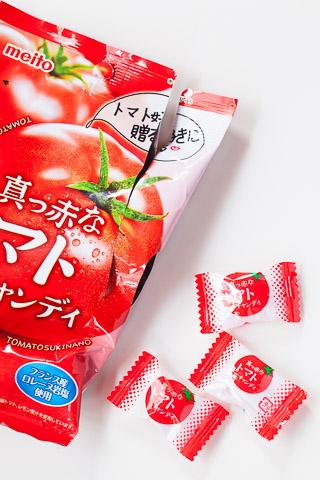 Bonbons à la tomate sur-emballés © Quentin Gaudillière