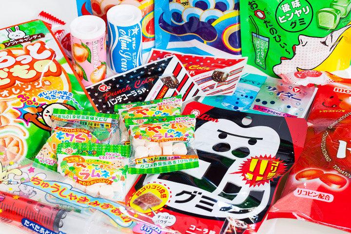 Bonbons japonais © Quentin Gaudillière