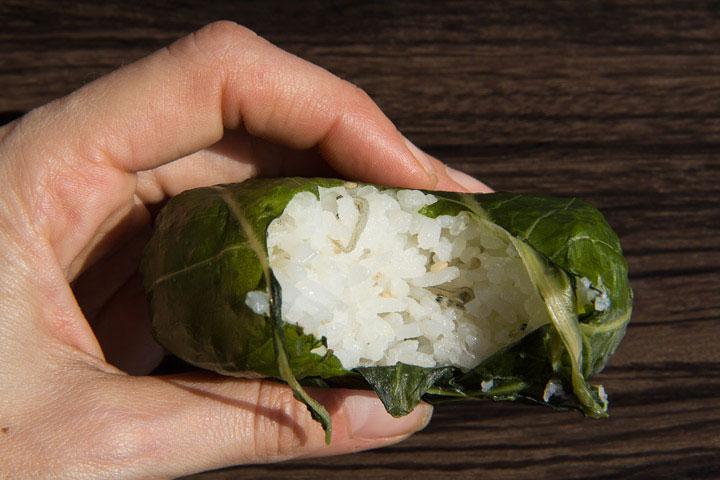 Chirimenjako dans mon onigiri © Camille Oger