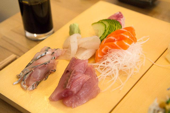 Assortiment de sashimi du chef © Camille Oger