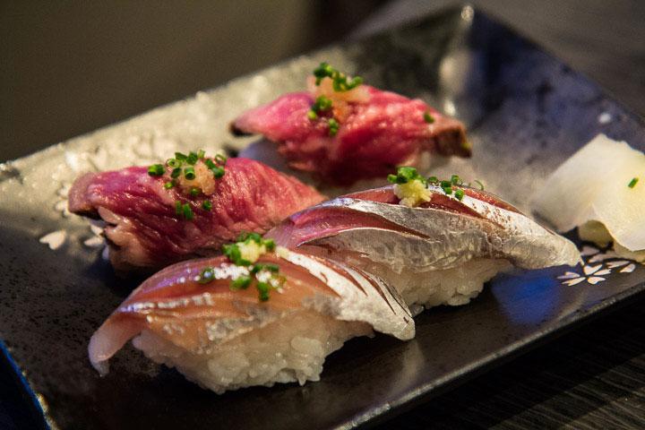 Sushi de sardine de Méditerranée © Camille Oger