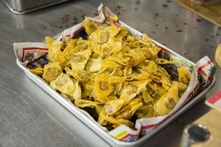 Mini-gyoza frits © Camille Oger