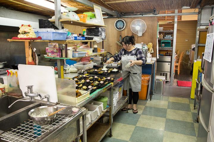 Bentō-ya, côté cuisine © Camille Oger