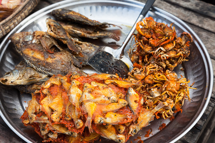 Cuisine birmane © Quentin Gaudillière