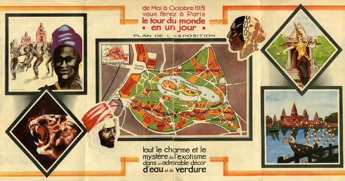 Affiche de l'exposition coloniale à Paris, 1931
