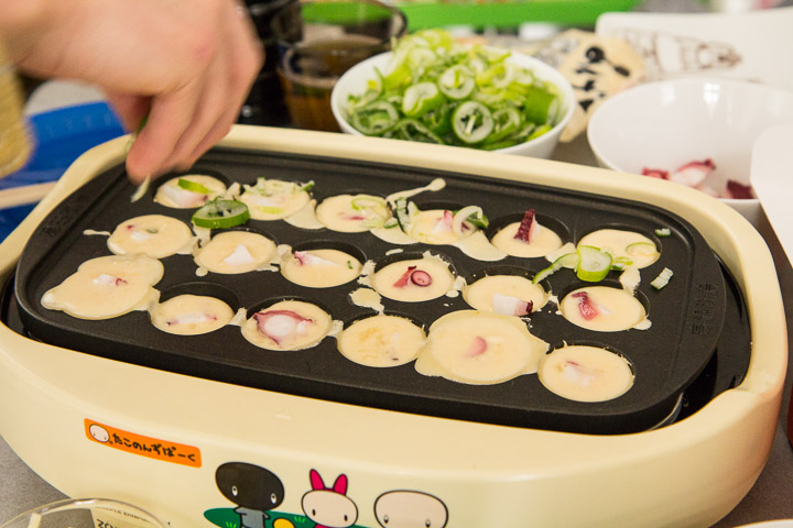 Dans les takoyaki, du poulpe, mais pas que © Camille Oger