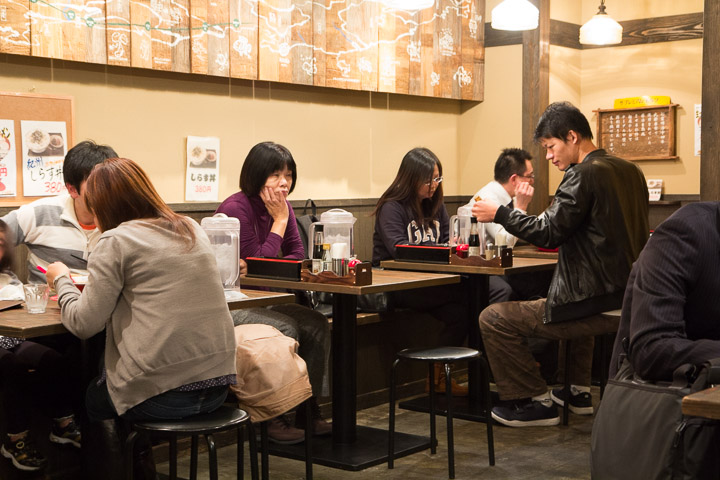 Restaurant de ramen, Wakayama © Camille Oger