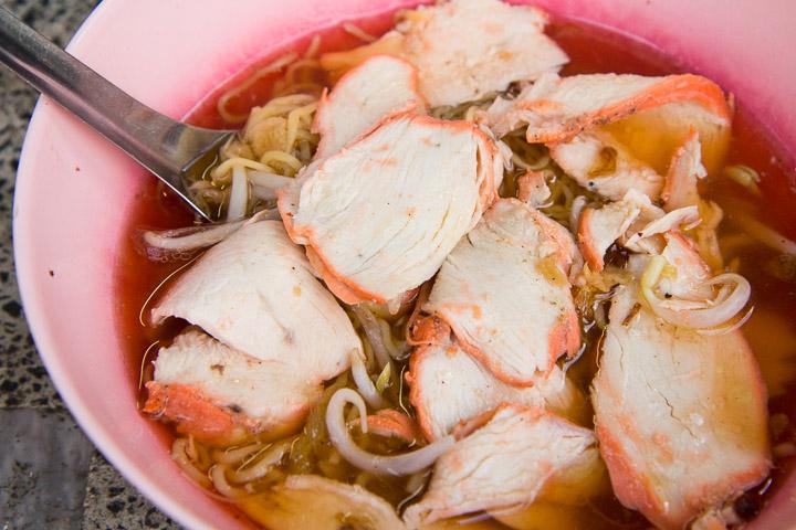 Soupe de nouilles en Thaïlande © Camille Oger