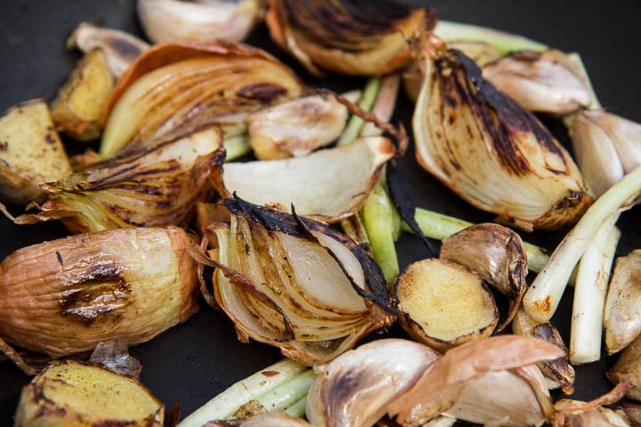 Légumes très grillés © Camille Oger