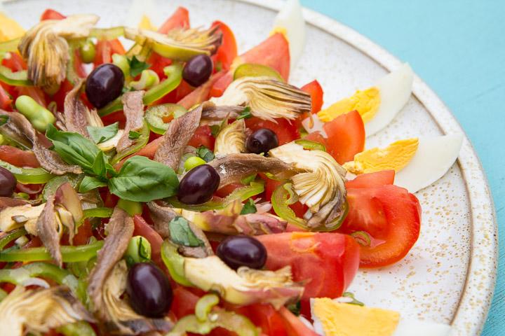 La salade niçoise de chez moi © Camille Oger
