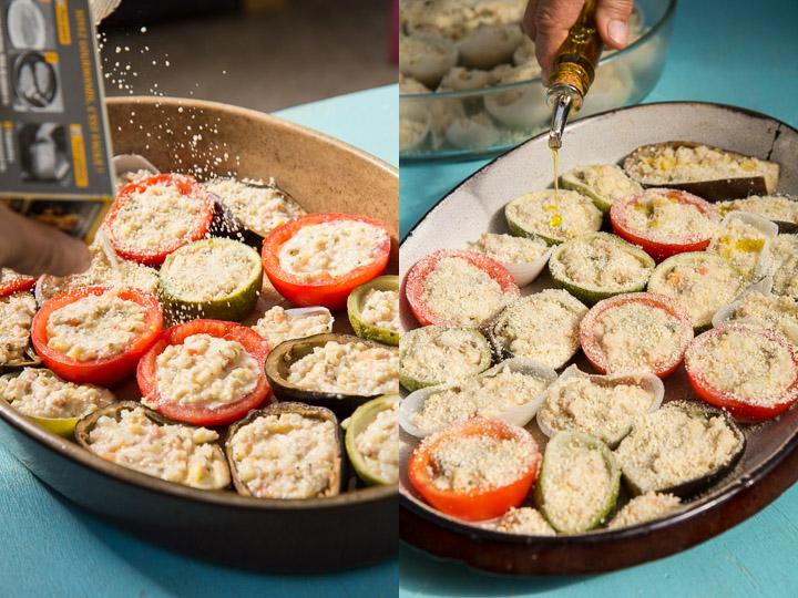 Chapelure et huile d'olive, pour faire le grac © Camille Oger