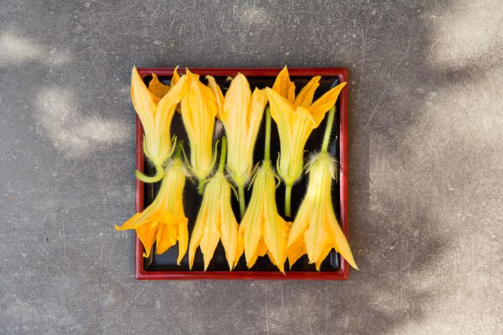 Ni trop ouvertes, ni trop fermées, les fleurs sont parfaites vers 11h du matin © Camille Oger