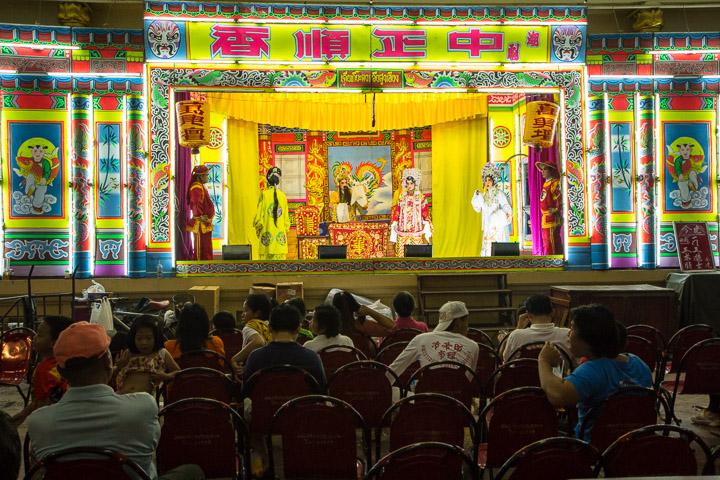Opéra chinois - personne ou presque ne regarde ©Camille Oger