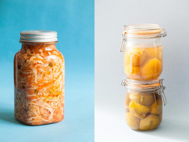 Curtido et citrons confits au sel © Camille Oger