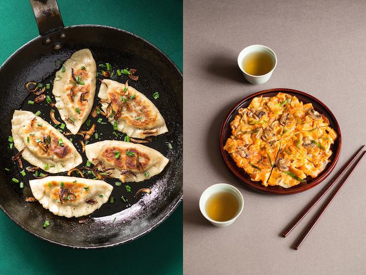 Pierogi et kimchi-joen © Camille Oger