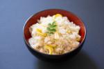 Takenoko gohan ou riz aux pousses de bambou ©Camille Oger